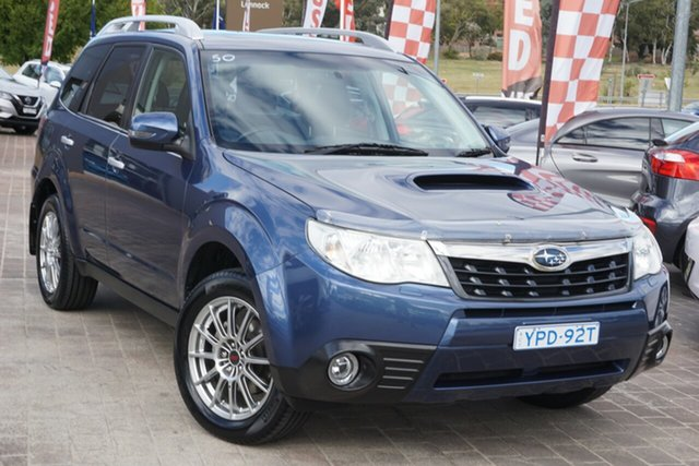 Used Subaru Forester S3 MY12 S-Edition AWD Phillip, 2012 Subaru Forester S3 MY12 S-Edition AWD Blue 5 Speed Sports Automatic Wagon
