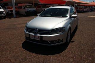 2012 Volkswagen Passat Type 3C MY12.5 125TDI DSG Highline Silver 6 Speed Direct Shift Wagon.