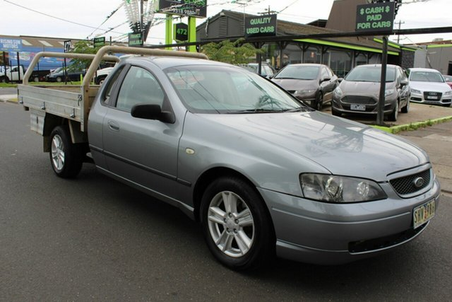 Used Ford Falcon BA XLS Ute Super Cab West Footscray, 2003 Ford Falcon BA XLS Ute Super Cab Grey 4 Speed Sports Automatic Utility