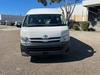 2012 Toyota HiAce TRH223R MY12 Upgrade Commuter White 4 Speed Automatic Bus