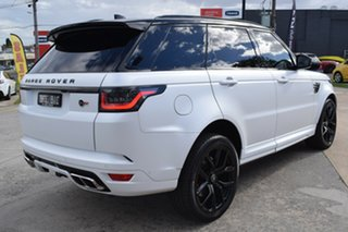 2019 Land Rover Range Rover Sport L494 20MY SVR White 8 Speed Sports Automatic Wagon