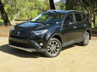2018 Toyota RAV4 ASA44R Cruiser AWD Black 6 Speed Sports Automatic Wagon