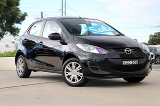 2012 Mazda 2 DE10Y2 MY12 Neo Black 5 Speed Manual Hatchback.
