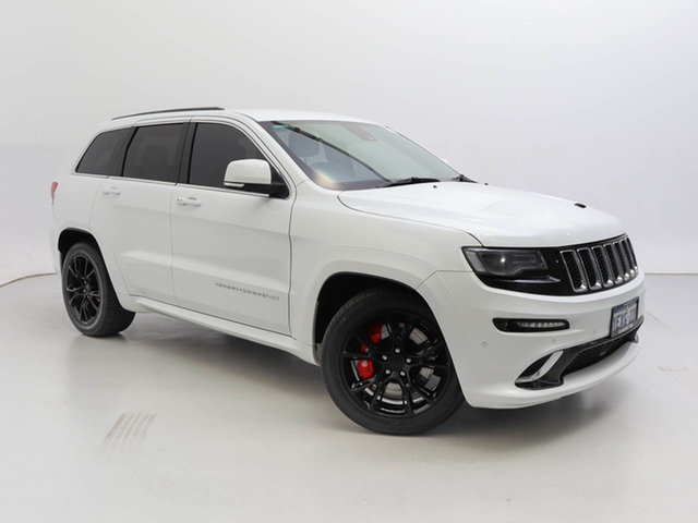 Used Jeep Grand Cherokee WK MY14 SRT 8 (4x4), 2013 Jeep Grand Cherokee WK MY14 SRT 8 (4x4) White 8 Speed Automatic Wagon