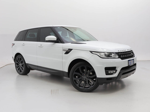 Used Land Rover Range Rover LW MY15 Sport 3.0 TDV6 SE, 2015 Land Rover Range Rover LW MY15 Sport 3.0 TDV6 SE White 8 Speed Automatic Wagon