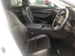 2019 Mazda 3 BP Series G20 Touring White Sports Automatic Sedan