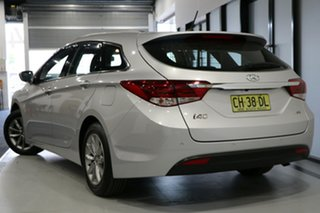 2015 Hyundai i40 VF4 Series II Active Tourer Silver 6 Speed Automatic Wagon.