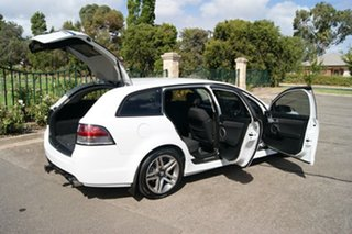 2012 Holden Commodore VE II MY12.5 SV6 White 6 Speed Automatic Sportswagon