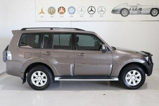 2013 Mitsubishi Pajero NW MY14 GLX-R Brown 5 Speed Sports Automatic Wagon.