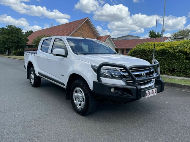 Used Holden Colorado RG MY18 LS Chermside, 2017 Holden Colorado RG MY18 LS White 6 Speed Automatic Dual Cab