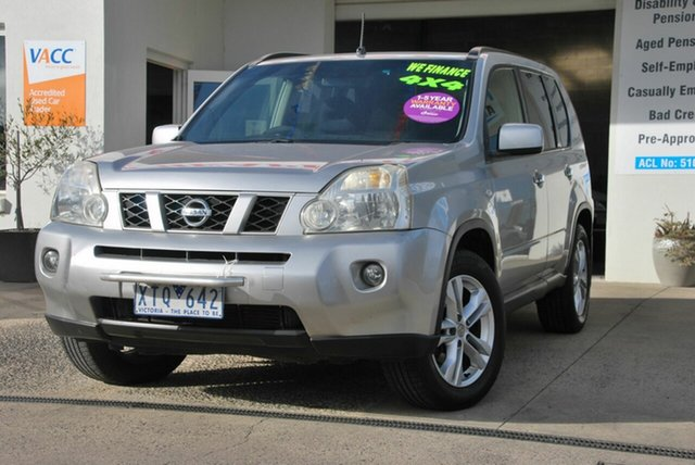 Used Nissan X-Trail T31 MY10 TS (4x4) Wendouree, 2010 Nissan X-Trail T31 MY10 TS (4x4) Silver 6 Speed Automatic Wagon
