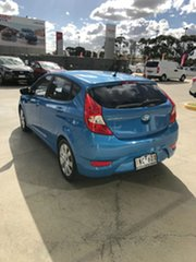 2018 Hyundai Accent RB6 MY18 Sport Blue Lagoon 6 Speed Sports Automatic Sedan