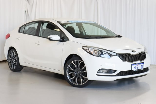Used Kia Cerato YD MY15 S Wangara, 2015 Kia Cerato YD MY15 S White 6 Speed Sports Automatic Sedan