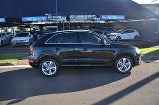 2017 Audi Q3 8U MY18 2.0 TFSI Sport Quattro (132kW) Black 7 Speed Auto Dual Clutch Wagon.