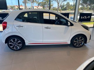 2021 Kia Picanto JA MY21 GT Clear White 5 Speed Manual Hatchback.