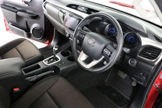 2018 Toyota Hilux GUN126R MY17 SR5 (4x4) Red 6 Speed Automatic Dual Cab Utility