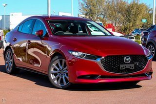 2020 Mazda 3 BP2S7A G20 SKYACTIV-Drive Touring Red 6 Speed Sports Automatic Sedan.
