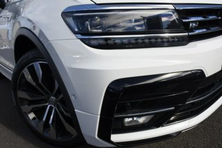 2020 Volkswagen Tiguan 5N MY21 162TSI Highline DSG 4MOTION Allspace Pure White 7 Speed