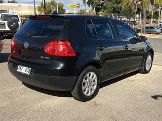 2006 Volkswagen Golf V Comfortline Tiptronic Black 6 Speed Sports Automatic Hatchback.