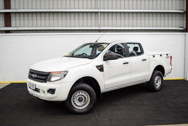 Used Ford Ranger PX XL Canning Vale, 2014 Ford Ranger PX XL White 6 Speed Sports Automatic Cab Chassis