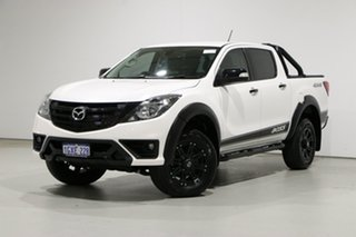 2019 Mazda BT-50 Boss (4x4) White 6 Speed Automatic Dual Cab Utility.