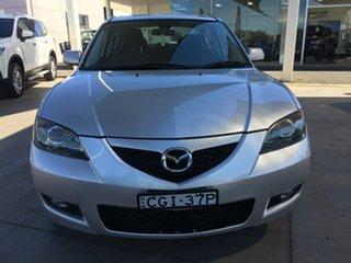 2008 Mazda 3 BK Series 2 Maxx Sport Silver Sports Automatic.