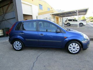 2007 Ford Fiesta WQ LX Blue 5 Speed Manual Hatchback