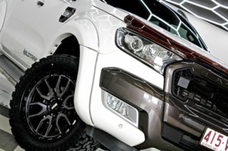 2015 Ford Ranger PX MkII Wildtrak 3.2 (4x4) White 6 Speed Automatic Dual Cab Pick-up.