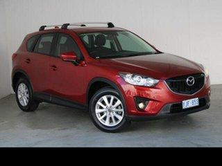 2012 Mazda CX-5 Maxx Sport (4x2) Red 6 Speed Automatic Wagon.