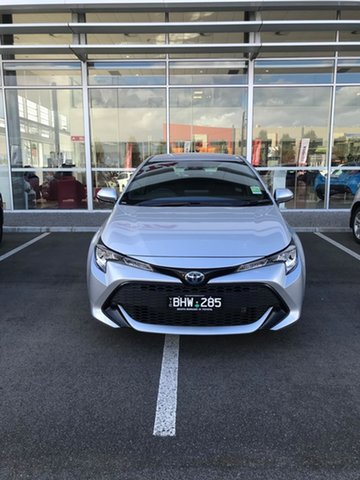 Pre-Owned Toyota Corolla ZWE211R Ascent Sport E-CVT Hybrid South Morang, 2020 Toyota Corolla ZWE211R Ascent Sport E-CVT Hybrid Silver Pearl 10 Speed Constant Variable