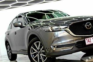 2017 Mazda CX-5 MY17.5 (KF Series 2) Akera (4x4) Grey 6 Speed Automatic Wagon.