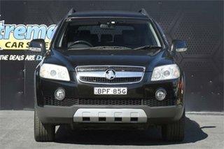 2007 Holden Captiva CG LX AWD Black 5 Speed Sports Automatic Wagon.