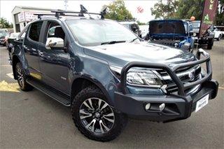 2018 Holden Colorado RG MY19 LTZ Pickup Crew Cab Grey 6 Speed Sports Automatic Utility.