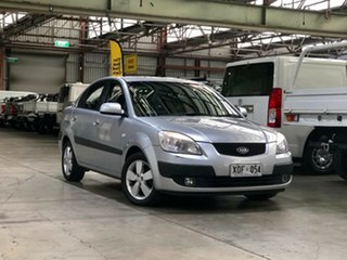 2007 Kia Rio JB MY07 EX Silver 4 Speed Automatic Sedan.