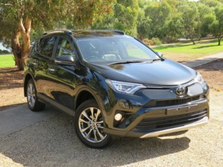 2018 Toyota RAV4 ASA44R Cruiser AWD Black 6 Speed Sports Automatic Wagon.