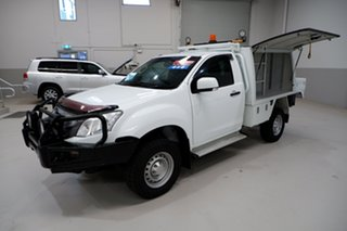 2016 Isuzu D-MAX MY15 SX White 5 Speed Sports Automatic Cab Chassis