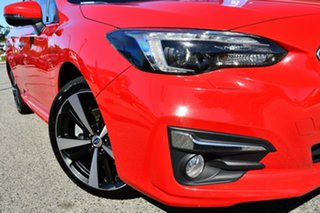 2017 Subaru Impreza G5 MY17 2.0i-S CVT AWD Pure Red 7 Speed Constant Variable Sedan.