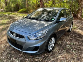 2018 Hyundai Accent RB6 MY19 Sport Lake Silver 6 Speed Sports Automatic Hatchback