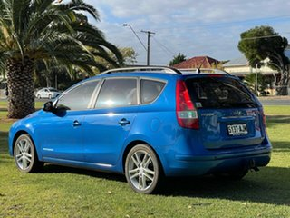 2010 Hyundai i30 FD MY11 Trophy cw Wagon Vivid Blue 4 Speed Automatic Wagon