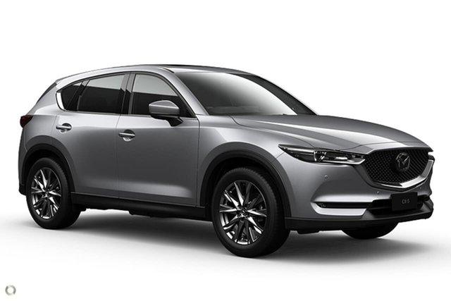 New Mazda CX-5 KF4WLA Akera SKYACTIV-Drive i-ACTIV AWD Waitara, 2021 Mazda CX-5 KF4WLA Akera SKYACTIV-Drive i-ACTIV AWD Silver 6 Speed Sports Automatic Wagon