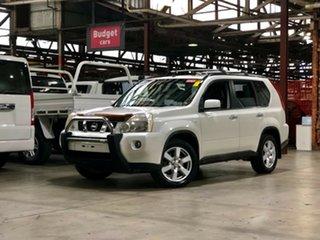 2008 Nissan X-Trail T31 TL White 6 Speed Sports Automatic Wagon.