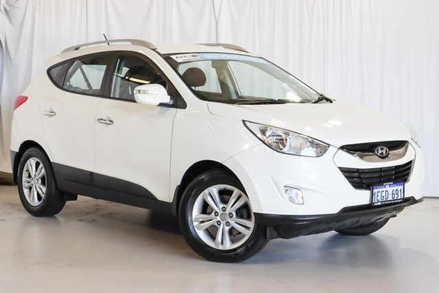 Used Hyundai ix35 LM2 Elite Wangara, 2013 Hyundai ix35 LM2 Elite White 6 Speed Sports Automatic Wagon