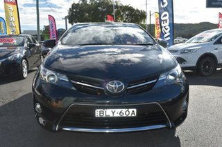 2014 Toyota Corolla ZRE182R Ascent Sport S-CVT Black 7 Speed Constant Variable Hatchback