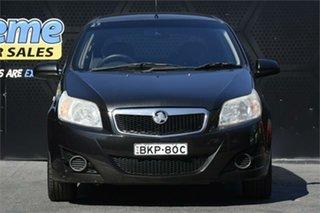2009 Holden Barina TK MY09 Black 5 Speed Manual Hatchback.