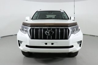 2018 Toyota Landcruiser GDJ150R MY18 Prado GXL (prem Int) (4x4) White 6 Speed Automatic Wagon.
