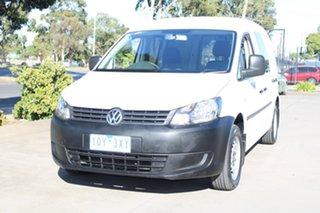 2014 Volkswagen Caddy 2K MY14 Maxi TDI250 White 7 Speed Auto Direct Shift Van