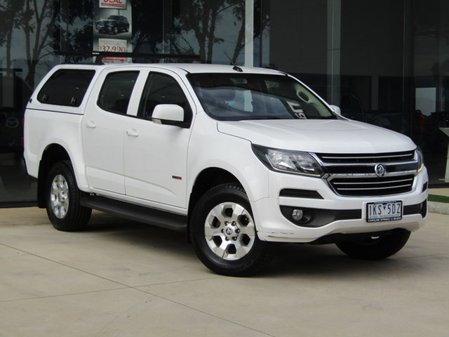 Used Holden Colorado RG MY17 LT Pickup Crew Cab 4x2 Ravenhall, 2017 Holden Colorado RG MY17 LT Pickup Crew Cab 4x2 White 6 Speed Sports Automatic Utility