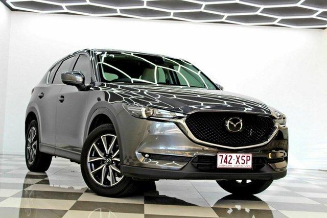 Used Mazda CX-5 MY17.5 (KF Series 2) Akera (4x4) Burleigh Heads, 2017 Mazda CX-5 MY17.5 (KF Series 2) Akera (4x4) Grey 6 Speed Automatic Wagon