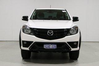 2019 Mazda BT-50 Boss (4x4) White 6 Speed Automatic Dual Cab Utility.