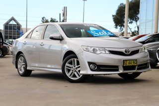 2014 Toyota Camry ASV50R Atara SL Silver 6 Speed Sports Automatic Sedan.